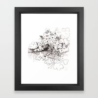 Ghost Crops Framed Art Print