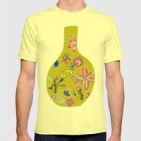 Chinese Pot Mens Fitted Tee Lemon SMALL