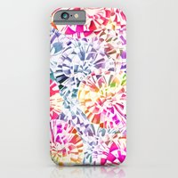 iPhone & iPod Case featuring soft carnations by TatiAbaurreDesigns