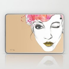 Life is a canvas, throw all the paint and sparkles on it you can Laptop & iPad Skin
