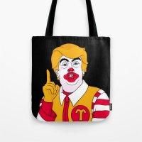 McDonald Trump Tote Bag