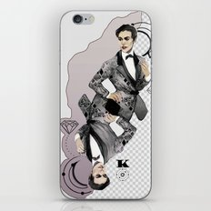 King of Carbon iPhone & iPod Skin