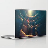hand Laptop & iPad Skins featuring Someday by Alice X. Zhang