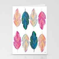 Feather Fully Stationery Cards