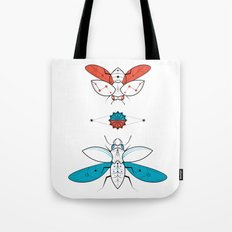 Two Insects II Tote Bag