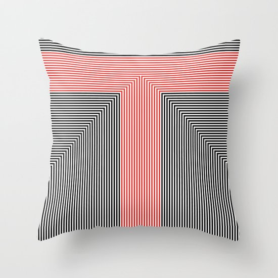 T like T Throw Pillow