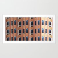 Building To Building: Ch… Art Print