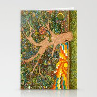 Etz haDaat tov V'ra: Tree of Knowledge Stationery Cards
