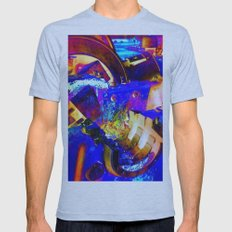 Interlock Mens Fitted Tee Athletic Blue SMALL