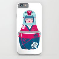 iPhone & iPod Case featuring Geisha by Piktorama