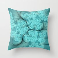 Babysbreath Throw Pillow
