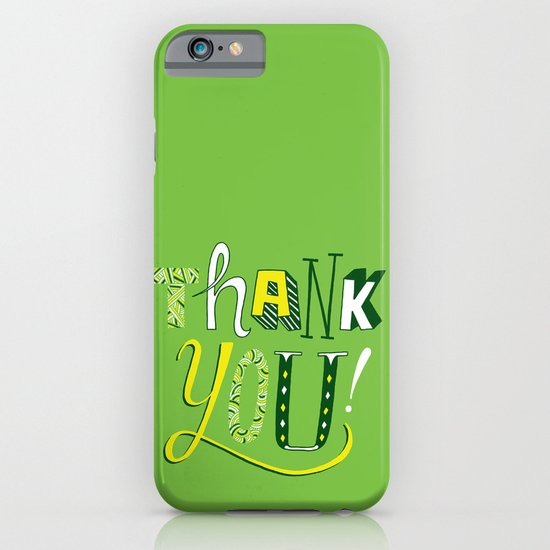 Thank You! iPhone & iPod Case