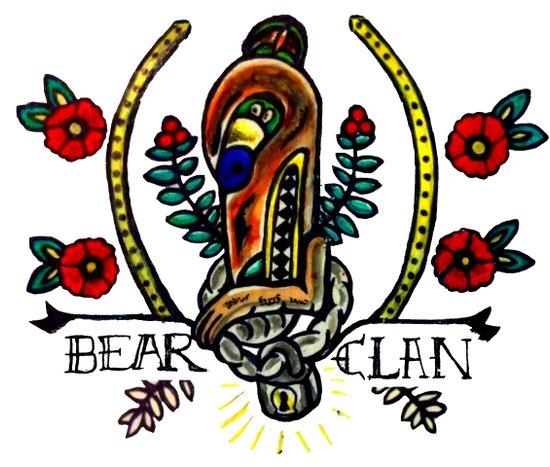 Bear Clan Pride Art Print