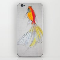 Goldfish Pond (close up#1) iPhone & iPod Skin