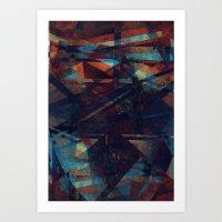 Exuberância + Arrogânc… Art Print