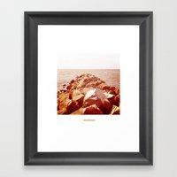Océano 4 Framed Art Print