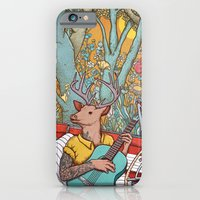 iPhone & iPod Case featuring A ride and a song by Alvaro Arteaga