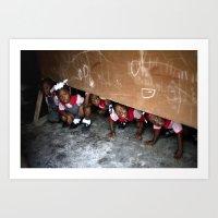 The Children Of Crista C… Art Print