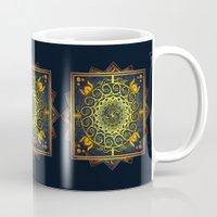 Golden Filigree Mandala Mug