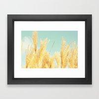 After-glow Framed Art Print