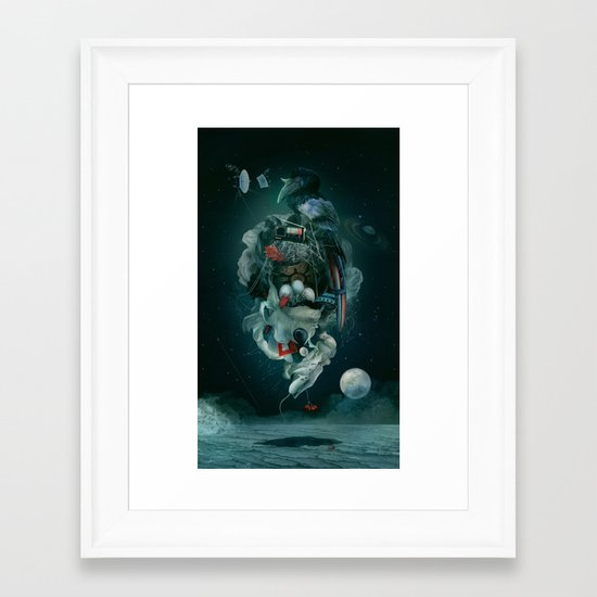 04:40 Framed Art Print