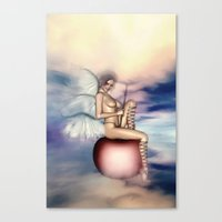 Zarte Versuchung Canvas Print