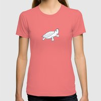 Turtle Womens Fitted Tee Pomegranate SMALL