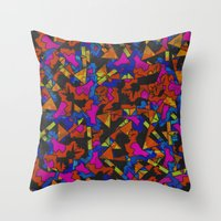 Op Ning A Supermodel From Addiscombe Throw Pillow
