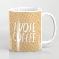 I Vote Coffee Mug