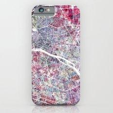 Paris Map iPhone 6 Slim Case