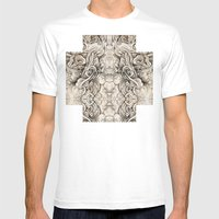 Cruciform Mens Fitted Tee White SMALL