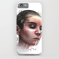 iPhone Cases featuring Cherry by Sam Crescenzo