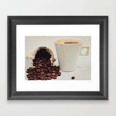Caffeine Framed Art Print