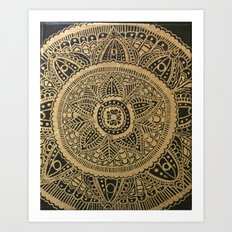 Medallion Art Print