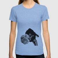 Alpaca Womens Fitted Tee Athletic Blue SMALL