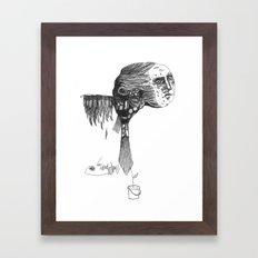 GROWIN' UP Framed Art Print