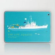 The Life Aquatic With St… Laptop & iPad Skin