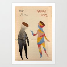 Old Soul, Young Soul Art Print