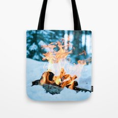 Ice and Fire Tote Bag