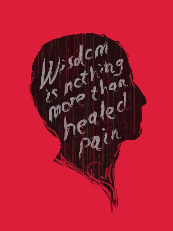 Words of wisdom Art Print