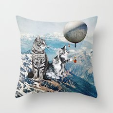 Learning from Experience Throw Pillow