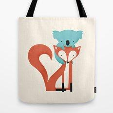 Fox & Koala Tote Bag