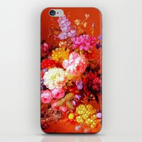 Passion Fruits And Flowe… iPhone & iPod Skin