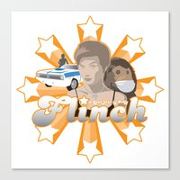 Flinch projet 01 Canvas Print