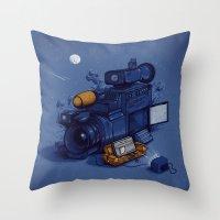 Movie Break Throw Pillow