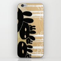 Suspicious Bunnies iPhone & iPod Skin