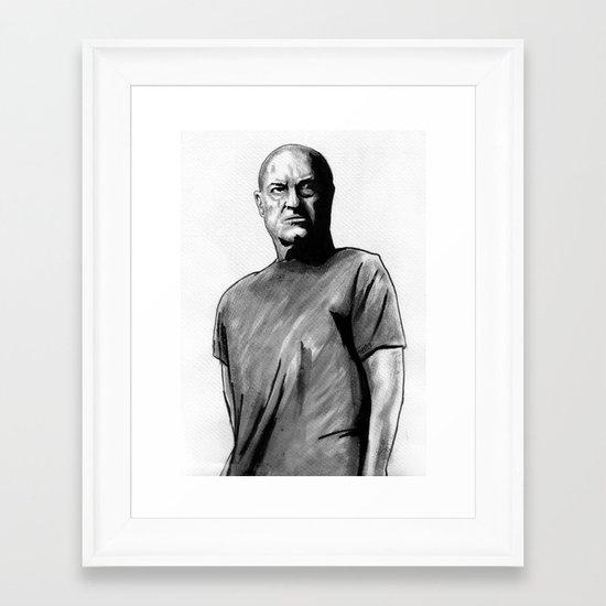 I Stopped Looking Framed Art Print