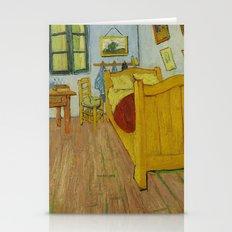 Bedroom In Arles By Vinc… Stationery Cards