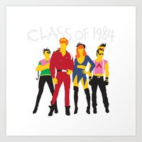 Class Of 1984 Art Print