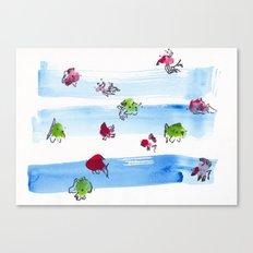 Ocean Fish Canvas Print